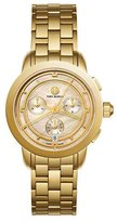 Tory Burch The Tory Classic Chronograph Watch, Rose/Golden