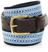 Vineyard Vines Hockey Canvas Club Belt