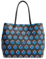Marc Jacobs Logo Scream Leather Tote