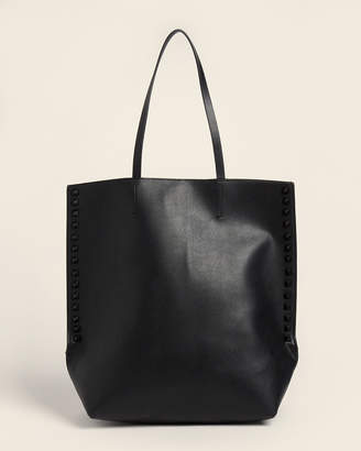 French Connection Black Karen Studded Tote