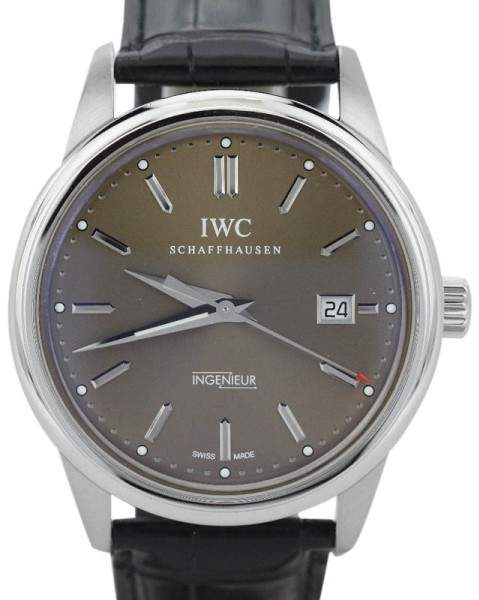 IWC Ingenieur IW323311 Stainless Steel & Leather 43mm Watch