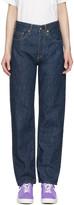 Chimala Blue Unisex Selvedge Deep Rise Jeans