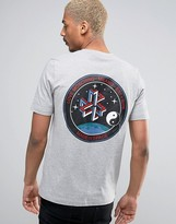 Love Moschino Space Back Print T-Shirt