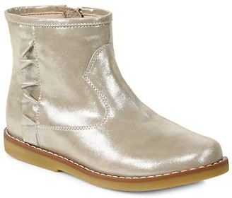 Elephantito Girl's Metallic Leather Boots