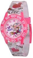 Disney Kids' W001246 Minnie and Daisy plastic Time Teacher, plastic printed strap watch