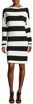 Norma Kamali All-in-One Striped Dress