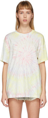 Amiri Multicolor Tie-Dye Hippie T-Shirt