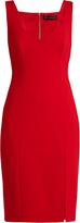 Versace Zip-back sleeveless jersey dress