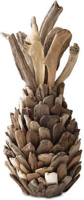 Round Driftwood Pineapple Decoration