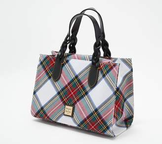 Dooney & Bourke Tartan Plaid Gia Satchel