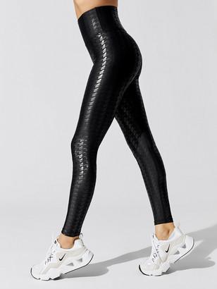 Carbon38 Houndstooth High Rise Full-Length Legging