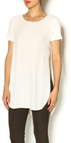 Ppla Blush Side Slit Tee