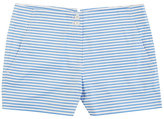 """Nautica Striped Lace-Up Short (4"""")"""