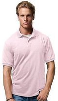 Hanes Men's Cotton-Blend EcoSmart Jersey Polo Men's Shirts