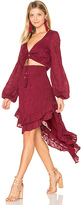 Winston White Bianca Dress in Burgundy. - size L (also in M)