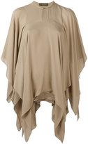 Plein Sud Jeans asymmetric blouse - women - Silk - 36