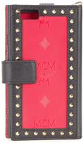 MCM studded wallet