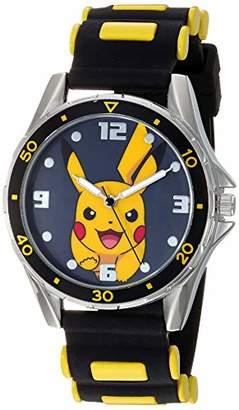 Pokemon Boys' Analog Quartz Watch with Rubber Strap