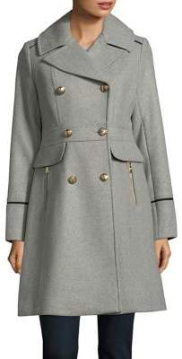Vince Camuto Double Breasted Peacoat