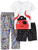 Carter's 3-Pc. Captain Pirate Pajama Set, Little Boys (2-7) & Big Boys (8-20)