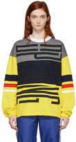 Opening Ceremony Yellow Charlie Cozy Sweatshirt
