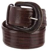 Polo Ralph Lauren Lizard Buckle Belt