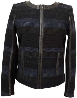 Georges Rech Black Cotton Jacket for Women
