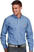 Antigua Men's Toronto Blue Jays Associate Plaid Button-Down Shirt