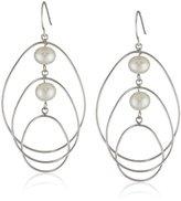 Bella Pearl Dangling Fashion Earrings