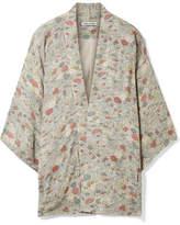 Elizabeth and James Drew Floral-print Chiffon Jacket