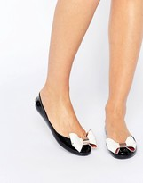Ted Baker Black/Cream Faiyte Bow Jelly Shoes