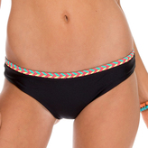 Luli Fama Multicolor Crochet Full Bottom In Black (L528514)