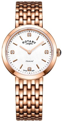 Rotary Watches Balmoral Bracelets Gold Plate Watch