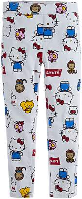 Levi's Little Girl's x Hello Kitty Super Skinny-Fit Jeggings