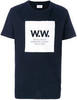 Wood Wood square print T-shirt