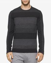 Calvin Klein Men's Striped Merino Sweater