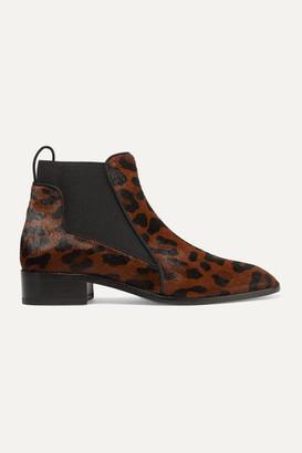 Christian Louboutin Marnmada 40 Leopard-print Calf Hair Chelsea Boots - Leopard print