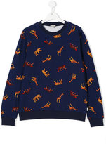 Paul Smith teen Animal print sweatshirt