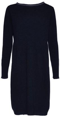 Fabiana Filippi Brilliant-Trim Wool-Blend Knit Dress