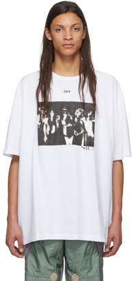Off-White White Spray Paint T-Shirt