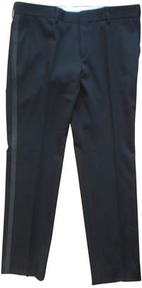 HUGO BOSS Black Wool Trousers