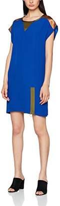 Sisley Women's Dress, (Blue 19r), (Size: 44)