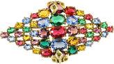 One Kings Lane Vintage Czech Jewel-Tone Crystal Brooch