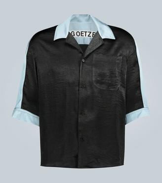 Goetze Ted paneled lightweight shirt