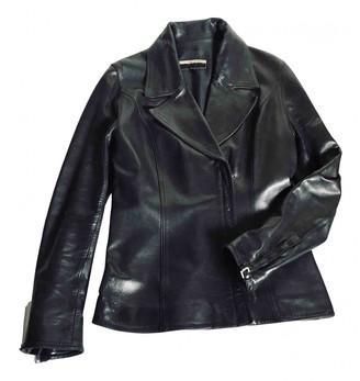 Ventcouvert Black Leather Jackets