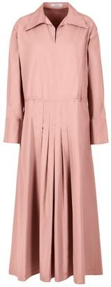 A Line Clothing Adjustable Waist Maxi Dress