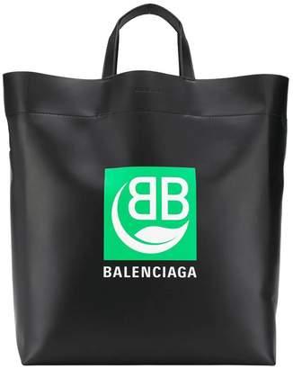 Balenciaga bb market tote black