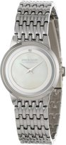 Pierre Cardin Women's PC900882002 Classic Analog Diamond Accented Mother-Of-Pearl Dial Watch