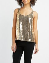 Charlotte Russe Sequin Tank Top
