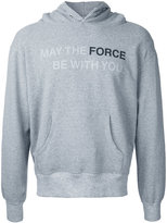 Anrealage Star Wars quote hoodie - men - Cotton/Polyurethane - 46